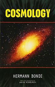Cosmology by Hermann Bondi, 9780486474830