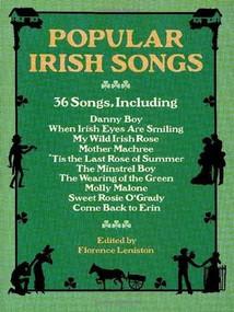 Popular Irish Songs by Florence Leniston, 9780486267555