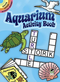 Aquarium Activity Book (Miniature Edition) by Suzanne Ross, 9780486412559