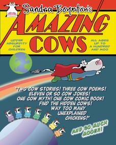 Amazing Cows (Udder Absurdity for Children) - 9780761163718 by Sandra Boynton, 9780761163718