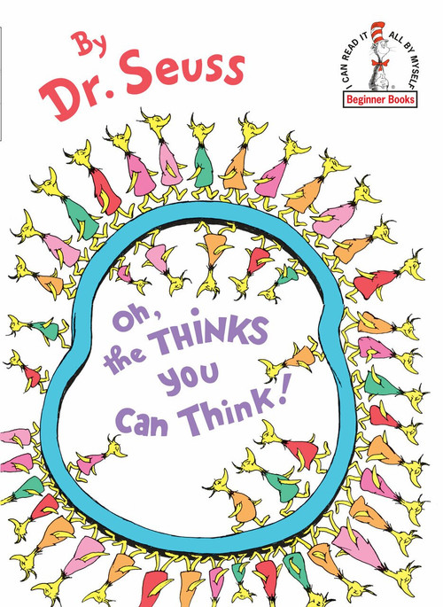 Oh, the Thinks You Can Think by Dr. Seuss, 9780394831299
