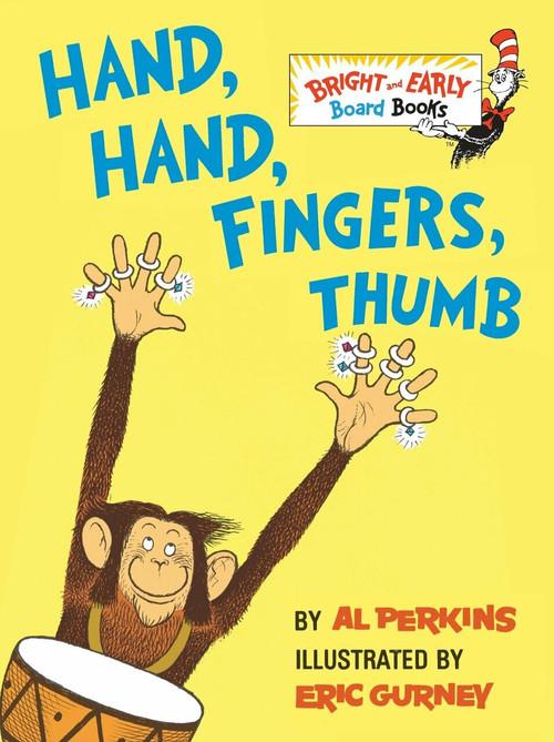 Hand, Hand, Fingers, Thumb (Miniature Edition) - 9780679890485 by Al Perkins, Eric Gurney, 9780679890485