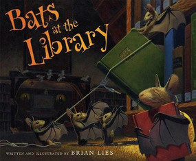 Bats at the Library - 9780544339200 by Brian Lies, 9780544339200
