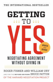 Getting to Yes (Negotiating Agreement Without Giving In) - 9780143118756 by Roger Fisher, William L. Ury, Bruce Patton, 9780143118756