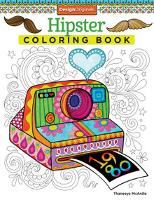 Hipster Coloring Book by Thaneeya McArdle, 9781574219647