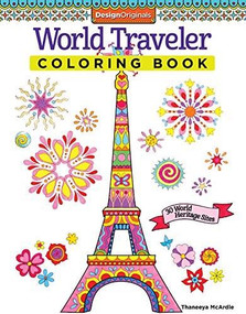 World Traveler Coloring Book (30 World Heritage Sites) by Thaneeya McArdle, 9781574219609