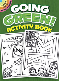 Going Green! Activity Book (Miniature Edition) by Becky Radtke, 9780486468105