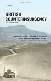 British Counterinsurgency by John Newsinger, 9780230298231