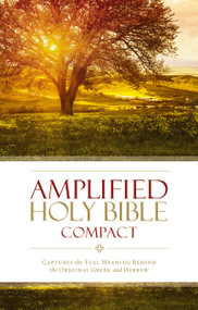 Amplified Holy Bible, Compact, Hardcover (Captures the Full Meaning Behind the Original Greek and Hebrew) (Miniature Edition) by  Zondervan, 9780310443995