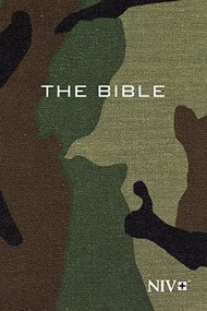NIV, Holy Bible, Compact, Paperback, Woodland Camo (Miniature Edition) by  Zondervan, 9781563206900