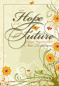 NIV, Hope for the Future (Crisis Pregnancy), New Testament, Paperback (Miniature Edition) by  Zondervan, 9781563207129