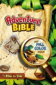 NIV, Adventure Bible, Hardcover, Full Color, Indexed by Lawrence O. Richards, 9780310739272