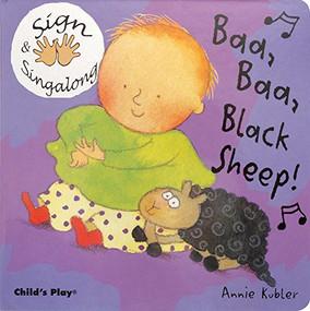 Baa, Baa, Black Sheep (American Sign Language) - 9781846430022 by Annie Kubler, 9781846430022