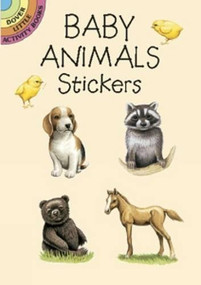 Baby Animals Stickers (Miniature Edition) by Lisa Bonforte, 9780486423418