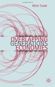 Overlapping Generations Economies - 9780230243330 by Mich Tvede, 9780230243330