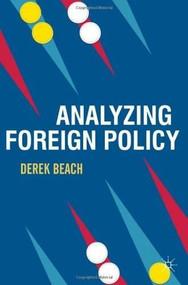 Analyzing Foreign Policy by Derek Beach, 9780230237391