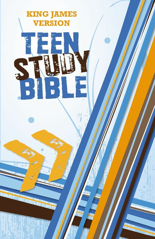 KJV, Teen Study Bible, Hardcover by Lawrence O. Richards, Sue W. Richards, 9780310719168