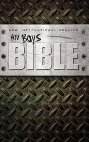 NIV, Boys Bible, Hardcover by Zondervan, 9780310723080