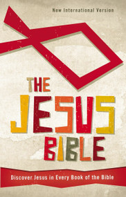 NIV, The Jesus Bible, Hardcover (Discover Jesus in Every Book of the Bible) by  Zonderkidz, 9780310726005