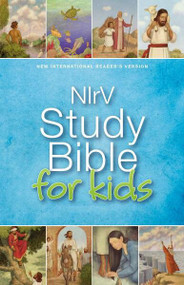 NIrV, Study Bible for Kids, Hardcover by  Zondervan, 9780310744030