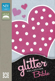 NIV, Glitter Bible Collection, Leathersoft, Pink by  Zondervan, 9780310744047