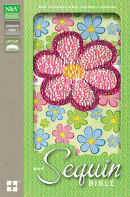 NIrV, Sequin Bible, Leathersoft, Multicolor by  Zondervan, 9780310745143