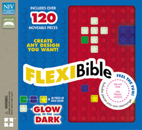 NIV, Flexi Bible, Leathersoft, Red by  Zondervan, 9780310745778