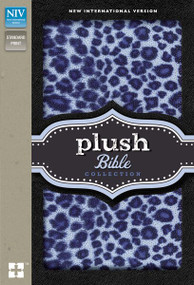 NIV, Plush Bible Collection, Hardcover, Purple/Blue by  Zondervan, 9780310746386