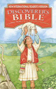 NIrV, Discoverer's Bible for Early Readers, Large Print, Hardcover (A Large Print Bible for Early Readers) by  Zondervan, 9780310743736