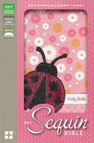 NIrV, Sequin Bible, Leathersoft, Pink by  Zondervan, 9780310745006