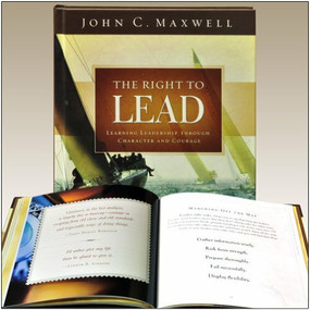 The Right to Lead (Learning Leadership through Character and Courage) - 9781608100309 by John C. Maxwell, 9781608100309