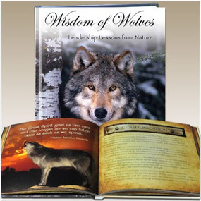 The Wisdom of Wolves (Leadership Lessons from Nature) by Twyman Towery, 9781608100590