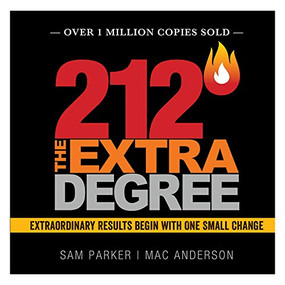 212 The Extra Degree by Sam Parker, Mac Anderson, 9781608100248