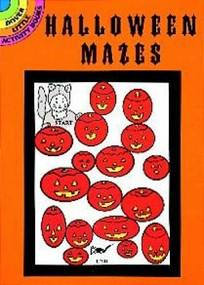 Halloween Mazes (Miniature Edition) by Suzanne Ross, 9780486402086