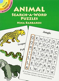 Animal Search-a-Word Puzzles (Miniature Edition) by Nina Barbaresi, 9780486427676