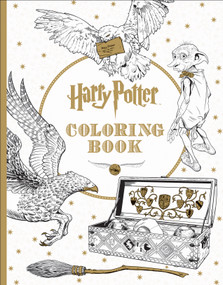 Harry Potter Coloring Book by Scholastic, 9781338029994