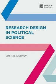 Research Design in Political Science by Dimiter Toshkov, 9781137342836
