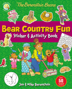 The Berenstain Bears Bear Country Fun Sticker and Activity Book by Jan & Mike Berenstain, 9780310753360
