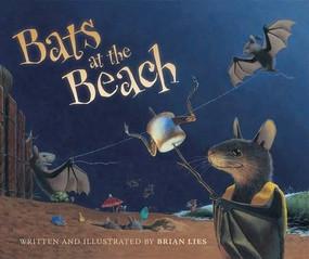 Bats at the Beach - 9780544668409 by Brian Lies, 9780544668409