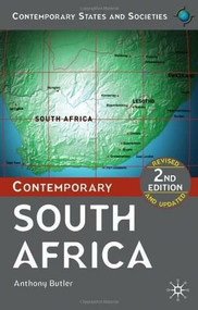Contemporary South Africa by Anthony Butler, 9780230217676