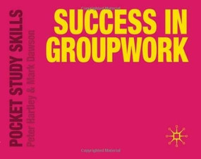 Success in Groupwork (Miniature Edition) by Peter Hartley, Mark Dawson, 9780230272309