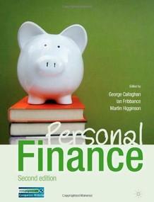Personal Finance by George Callaghan, Ian Fribbance, Martin Higginson, 9780230348110