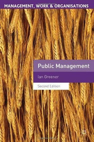 Public Management by Ian Greener, 9780230353992