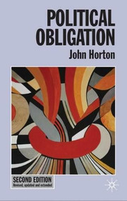 Political Obligation - 9780230576506 by John Horton, 9780230576506