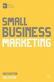 Small Business Marketing by Ian Chaston, 9781137326003