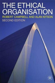 The Ethical Organisation by Alan Kitson, Robert Campbell, 9780333994214