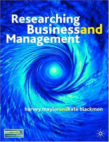 Research Business and Management by Harvey Maylor, Kate Blackmon, 9780333964071