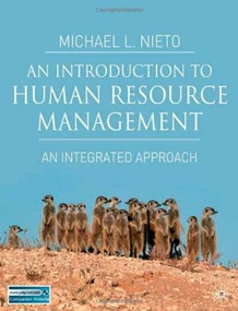 An Introduction to Human Resource Management (An Integrated Text) by Michael L. Nieto, 9780333986653