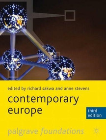 Contemporary Europe by Richard Sakwa, Anne Stevens, 9780230282896