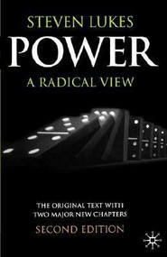 Power, Second Edition (A Radical View) by Steven Lukes, 9780333420928
